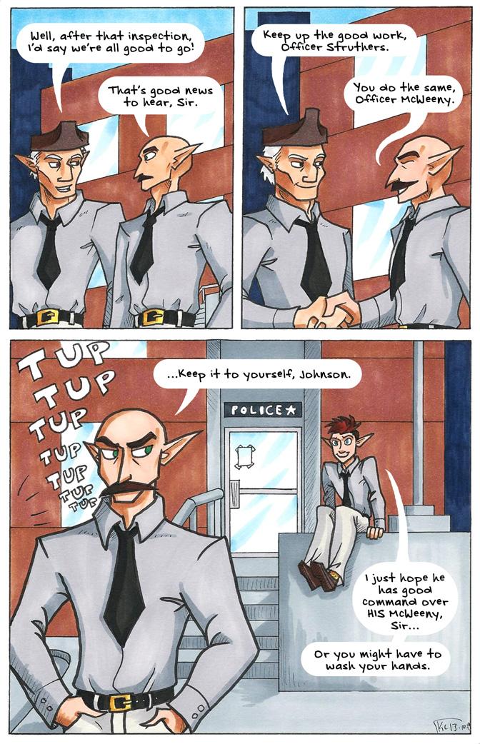 """Johnson & Sir: """"That's His Duty."""""""