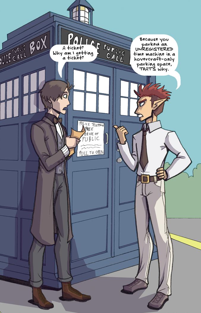 "Johnson & Sir 19: ""TARDIS"""
